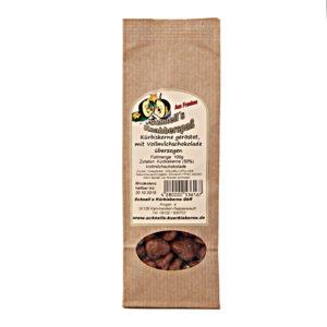 Kürbiskerne geröstet, mit Vollmilchschokolade