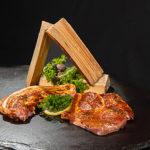 Grillfleisch Mariniert Steak Bauch